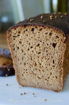 Прибалтийский ржано-пшеничный заварной хлеб на закваске. Простейший ржаной хлеб на остатках закваски http://www.zhizn-vkusnaja.com.ua/2015/08/hleb-pribaltijskij-recept.html