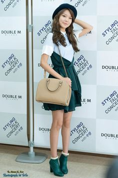 Summer Choi Sooyoung of Girls' Generation #SNSD at Double M (Milano) Styling Talk Concert