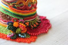 Heliamphora Ionasi   Freeform Crochet Cuff by irregularexpressions, $168.00
