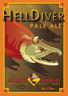 Hell Diver Pale Ale Sockeye Brewing - Boise, ID