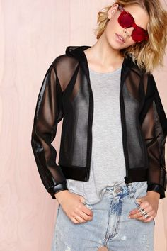 Playing Games Mesh Jacket | Shop What's New at Nasty Gal
