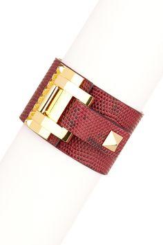Leather Buckle Bracelet by Vince Camuto on @nordstrom_rack