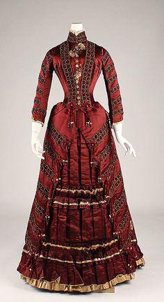 Dress 1879 The Metropolitan Museum of Art