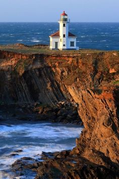 Cape Arago Lighthouse - Coos Bay, Oregon