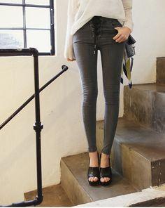 #high waist #dahong #jeans #pants #다홍 #청바지 #진 #하이웨이스트
