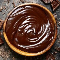 This chocolate ganache recipe is so easy. Pour hot cream over chocolate and whisk to make glaze, frosting or drips! Ganache is a chocolate dessert staple! Chocolate Ganache Frosting, Ganache Recipe, Icing Recipe, Frosting Recipes, Coconut Hot Chocolate, Best Chocolate, Chocolate Desserts, White Chocolate, Just Desserts