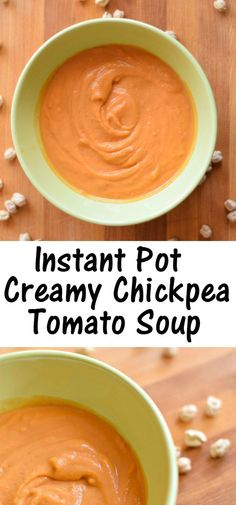 This delicious Instant Pot recipe for creamy chickpea tomato soup is a great winter weeknight meal. With the new year, it happens to be paleo friendly, and it's also naturally gluten and dairy free. That said, serve this kid-friendly soup with a sprinkle of Parmesan cheese if your dietary restrictions allow.
