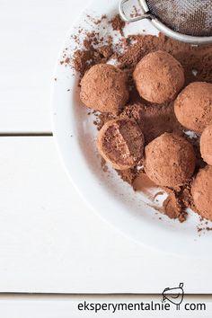 Domowe czekoladki - prezent na szybko - chocolate truffles - gluten free Gluten Free Recipes, Dog Food Recipes, Healthy Recipes, Polish Recipes, Free Food, Tasty, Cookies, Desserts, Diet