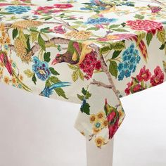 One of my favorite discoveries at WorldMarket.com: Whippoorwill Tablecloth