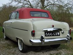 1954 Ford Zephyr Mark I convertible Ford Zephyr, 1954 Ford, Mk1, Convertible, Cars, Classic, Vehicles, Souvenirs, Derby