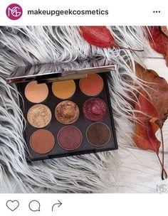 MakeupGeek fall eyeshadow palette available now!! 49$ : MakeupAddiction