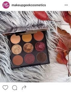 MakeupGeek fall eyeshadow palette available now!! 49$ : MakeupAddiction