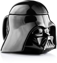 Star Wars Fans! Best gift to your friends - Star Wars Mug - Darth Vader Helmet 3D Ceramic Coffee and Drink Mug with Removable Lid. Get it on Amazon: http://amzn.to/2umvl3l