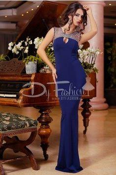 Rochie Bloom Dark Blue