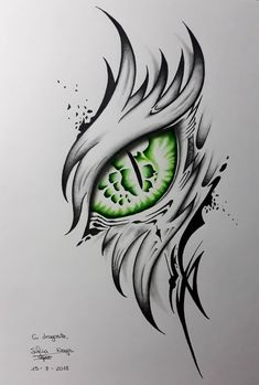 Most popular dragon tattoo sketch simple ideas Dragon Eye Drawing, Dragon Tattoo Sketch, Dragon Tattoo Designs, Drawing Eyes, Dragon Drawings, Dragon Tattoo Easy Drawing, Simple Dragon Drawing, Dark Art Drawings, Pencil Art Drawings