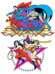 Justice League of America by José Luis García-López from the 1982 DC Comics Style Guide