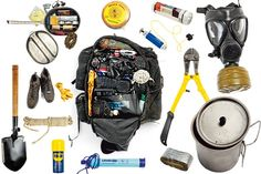 Urban Bail Out Bag | Survival Prepping Ideas, Survival Gear, Skills & Emergency Preparedness Tips - Survival Life Blog: survivallife.com #survivallife #survivalgear #survival