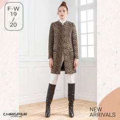 Παλτό σε λεοπάρ σχέδιο με χρυσές και ασπρόμαυρες αποχρώσεις. Αποκλειστικά για σένα ! Κωδικός: 52800 Fashion, Moda, Fashion Styles, Fashion Illustrations