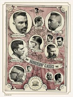Schorem haarsnijder en barbier, my barber. Second from the top on the right, yes, that would be me! :)