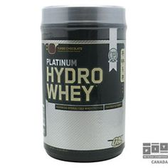 The Optimum Nutrition Platinum Hydro Whey Protein Powder delivers 30 grams of hydrolyzed whey protein isolate per serving. Whey Protein Isolate, Whey Protein Powder, Hydrolyzed Whey Protein, Branch Chain Amino Acids, Protein To Build Muscle, Pure Protein, Protein Supplements, Sports Nutrition