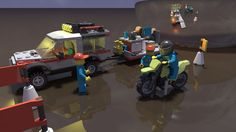 Lego set 4433 render in POV Ray.  MLCad design and POV Ray settings by Jeff McClain.