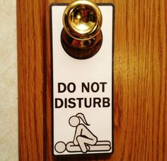 Do Not Disturb Door Hanger Sign. Adults Private Room. Funny Sexy BDSM S&M Only