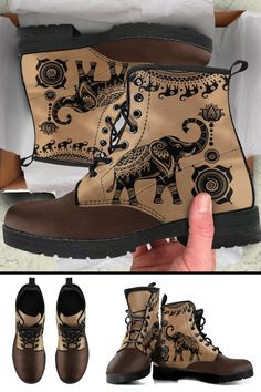 Cruise through any season with style and comfort with our new luxury designer elephant boots! Beautiful Clothes, Beautiful Outfits, Gypsy Style, My Style, Elephant Stuff, Ligament Injury, Elephant Jewelry, Save The Elephants, Boho Fashion Summer