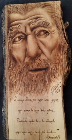 Wood Burning Crafts, Wood Burning Patterns, Wood Burning Art, Wood Crafts, Cottage Crafts, Small Wood Projects, Gandalf, Wood Creations, Wooden Art