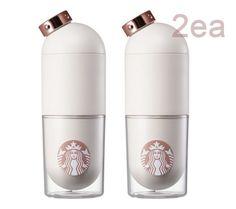 Korea Starbucks 2016 Autumn MD Gold capsule waterbottle 2ea 1SET #Starbucks