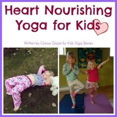 Please meet our guest writer, Erin McDonald, a kids yoga teacher living in British Columbia, Canada. She shares her Heart Yoga Class Plan with us in honor of Valentine's Day. Erin details each step of…MoreMore Kids Yoga Poses, Yoga For Kids, Exercise For Kids, Chico Yoga, Preschool Yoga, Family Yoga, Childrens Yoga, Yoga Books, Yoga Lessons