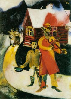 Marc Chagall - The Violinist