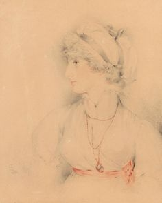 Sir Thomas Lawrence | Portrait of Sarah Martha (Sally), eldest daughter of Mrs. Siddons | 1798 | The Morgan Library & Museum