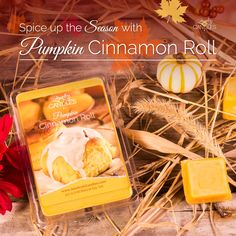 Free Giveaway: Fan Page Giveaway!! - (See rules) Pumpkin Cinnamon Roll Scented Wax Tarts- U.S. Only   Enter Here: http://www.giveawaytab.com/mob.php?pageid=165816336954813