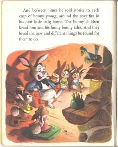 from the Golden Book Grandpa Bunny