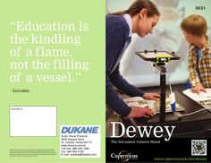 dewey-ipad-stand-20681482 by William  McIntosh via Slideshare