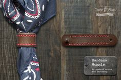 Hey, I found this really awesome Etsy listing at https://www.etsy.com/listing/173028547/handmade-leather-bandana-woggle