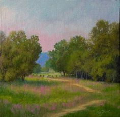 Paula Ann Ford, Fine Art: Summer in the Valley (Mohawk Valley) Oils, Farmhouse Paintings, Acrylic Art, Ford, Fine Art, Ann, Creative, Artist, Summer, Soft Pastels
