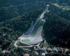 Bergisal Ski Jump in Insbruck, Austria. The year I was there!