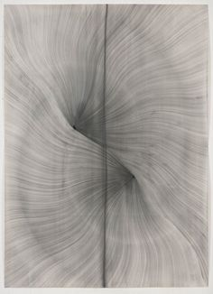 arpeggia:  Thomas Müller - Untitled, 2012, pencil, ink, acrylic paint on Fabriano paper, 196 x 140cm