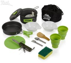 Mess Kit Outdoor Camping Cookware Set Hiking Backpacking Lightweight Picnic Gear   Sporting Goods, Outdoor Sports, Camping & Hiking   eBay!