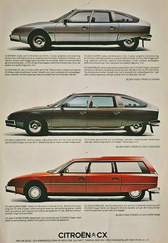 CX,Break,Familial. : CITROEN-CATALOG-GALLERY : by CITROEN DS.
