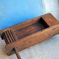 antique wooden garden Ratchet... Home Decor... Jul by CoolVintage, $37.50