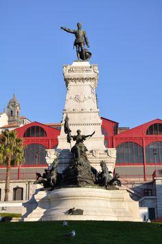 Mercado Ferreira Borges no Porto www.webook.pt #webookporto #porto #arquitectura