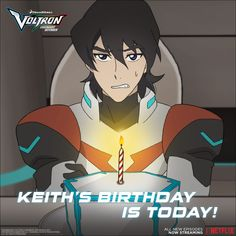Happy Birthday, Keith! from Voltron Legendary Defender