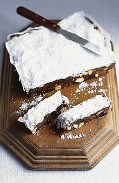 Spiced fruit and nut cake. Italia published by Quadrille.  Photograph: Alastair Hendy