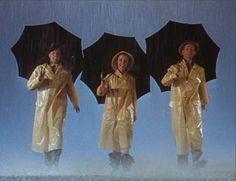 Gene Kelly, Debbie Reynolds, and Donald O'Connor [Singin' in the Rain]