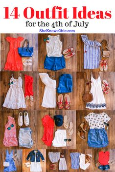 14 Outfit Ideas for the Fourth of July, fourth of july outfit ideas, last minute fourth of july outfit, outfit idea, summer outfit, summer ootd, casual outfit, casual 4th of july outfit, casual style
