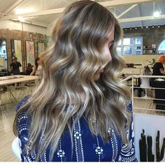 Colour by using a mixture of babylights and… Color Inspiration, Salons, Hair Color, Hair Beauty, Long Hair Styles, Photo And Video, Instagram Posts, Colour, Blondes