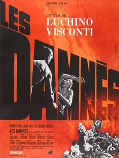 Luchino Viscontis The Damned  movie poster, 1969