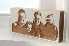 wooden family portrait Family Portraits, My Style, Frame, Home Decor, Family Posing, Room Decor, Frames, A Frame, Family Photos